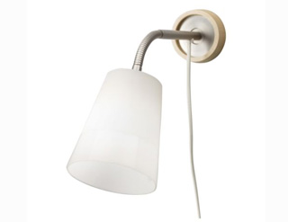 Illuminare la camera da letto con lampade da parete - Lampade da muro ikea ...