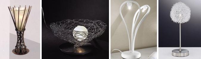 Lampade da comodino per camera da letto design casa for Lampade per comodini moderne