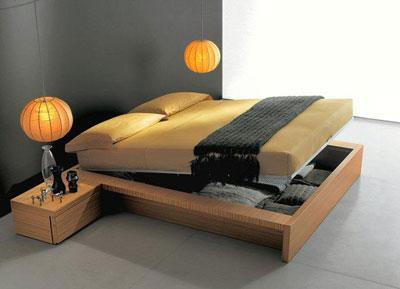 Tutto in ordine sotto il letto - Letto giapponese ikea ...