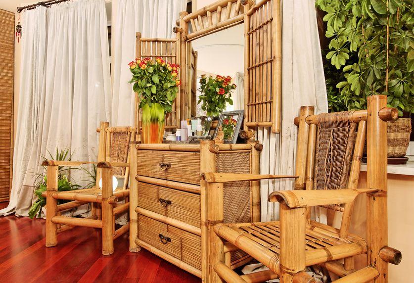 La camera da letto matrimoniale in stile etnico - Camere da letto etniche ...
