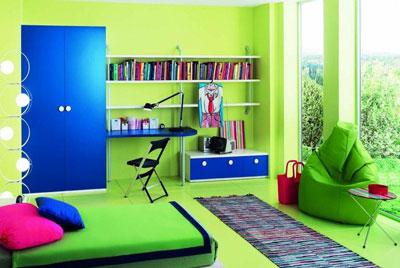 Le pareti della stanza da letto possono fare la differenza for Pareti colorate particolari