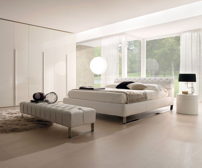 Casa immobiliare, accessori: lampadari per camere da letto moderne