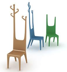 Le sedute da camera spaziano dalle comuni sedie alle - Appendiabiti da camera da letto ...