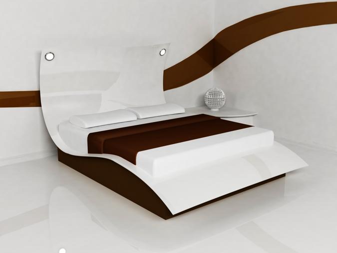 Letto matrimoniale da giardino idee per il design della casa - Letto stile moderno ...