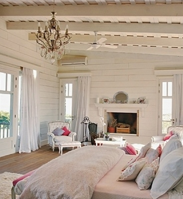 Camere country chic with camere country chic for Tenue shabby chic