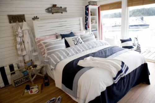 Stile marinaro, ideale per la casa al mare