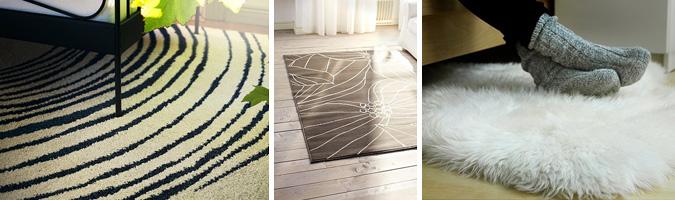 Dove e come posizionare i tappeti in camera da letto e nelle camerette