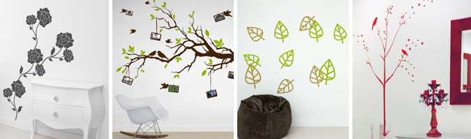 wall stickers camera da letto